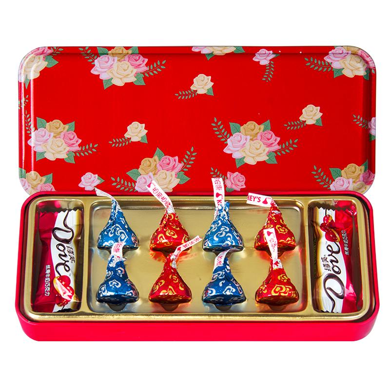 德芙 巧克力18粒礼盒装(第1款)券后12.8元包邮