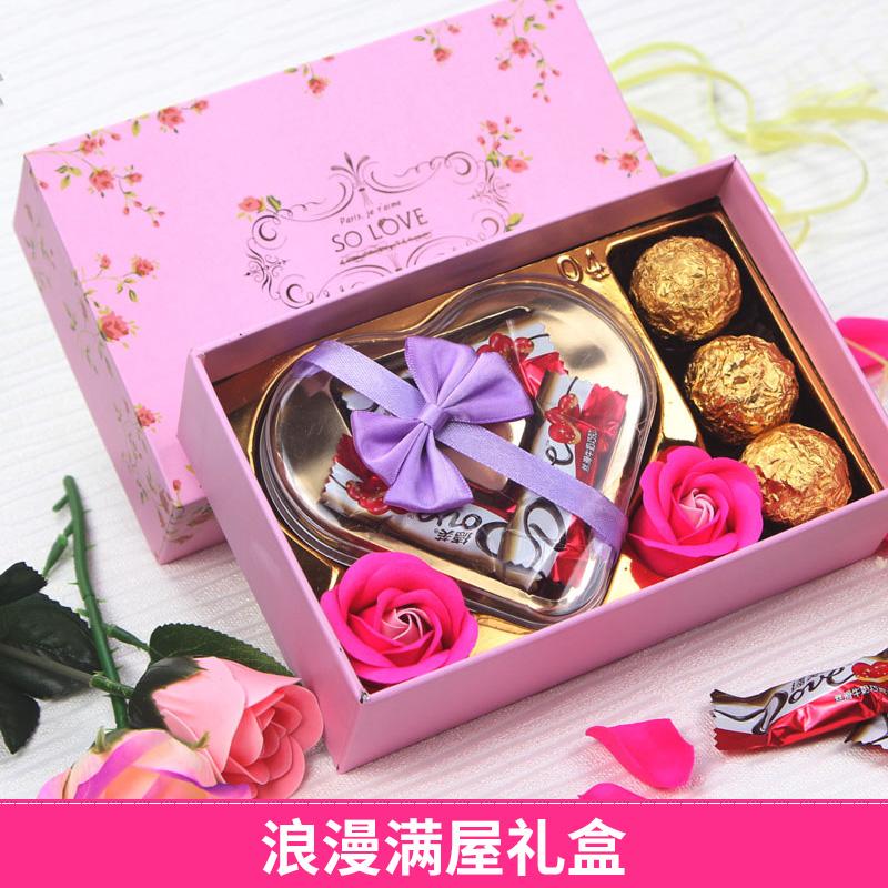 德芙巧克力浪漫礼盒(最后一款)券后8.8元包邮