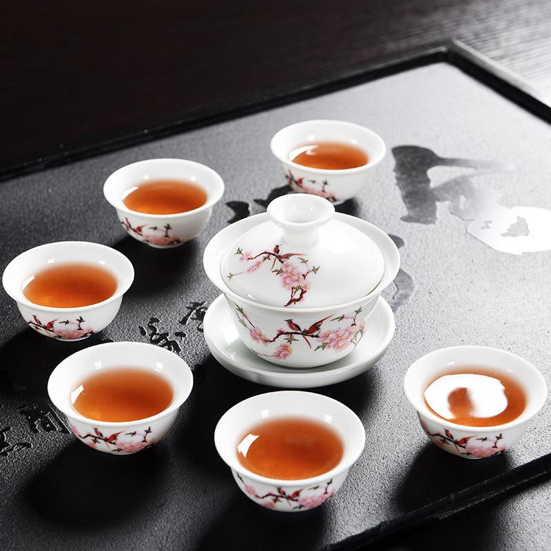 天猫商城 白菜商品汇总(辉跃经典 紫砂茶具套装 一碗六杯 8.8元包邮)