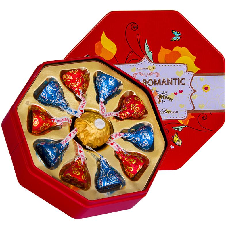 德芙巧克力创意11粒礼盒装,券后14.9元包邮
