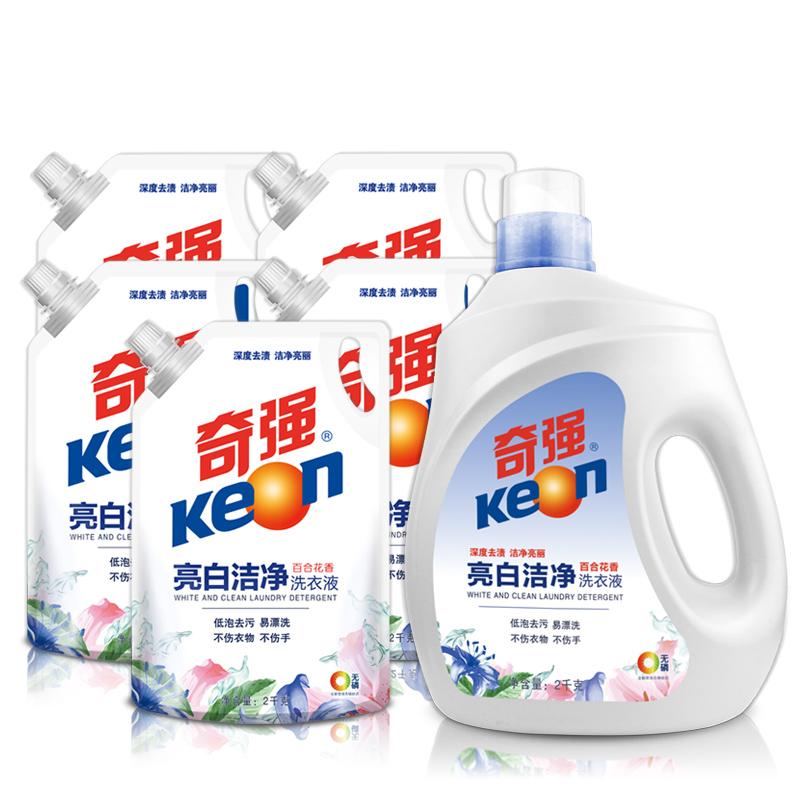 天猫超市 Keon/奇强洗衣液 24斤 次日达 89元包邮