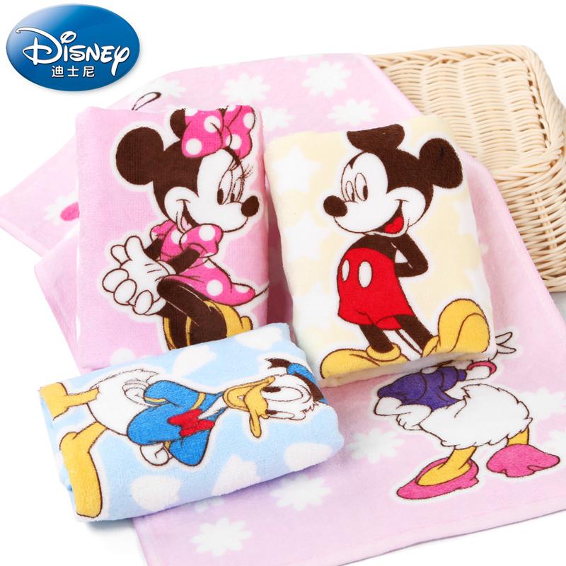 迪士尼 儿童 纯棉割绒毛巾 4条 29.9元包邮