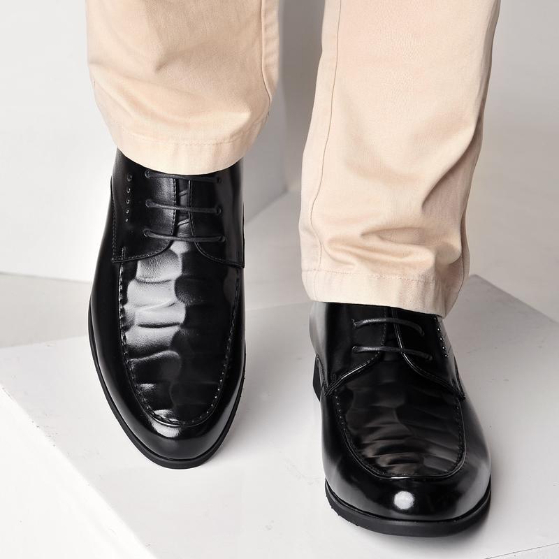 才子商务休闲皮鞋,券后118元包邮
