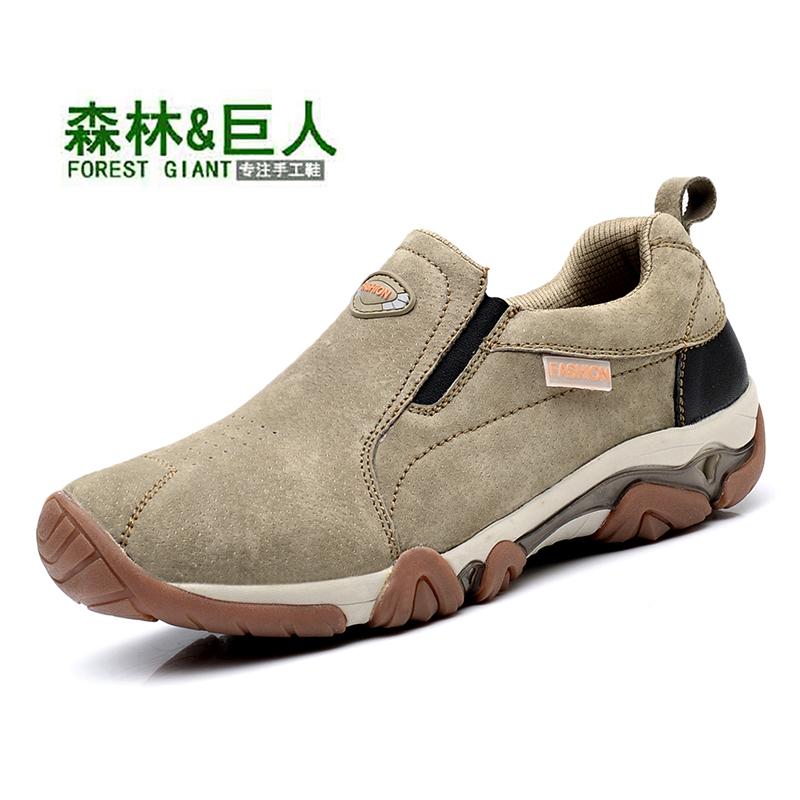 森林巨人男士户外休闲运动鞋,券后59元包邮