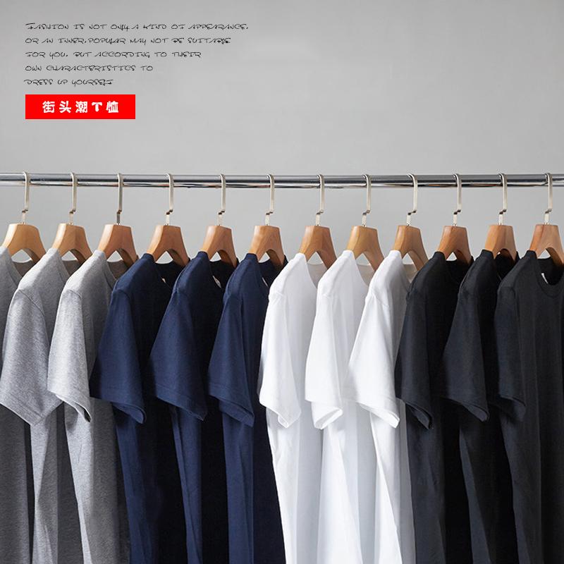 日系男士高品质短袖纯棉T恤,券后15.9元包邮