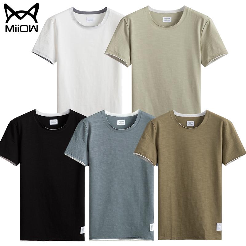 猫人旗舰店男士短袖T恤,券后39元包邮