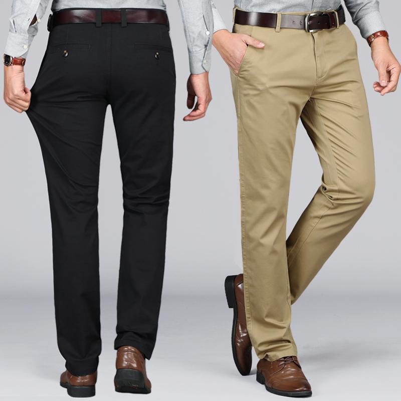 吉普盾-加绒弹力直筒休闲裤,券后59元包邮
