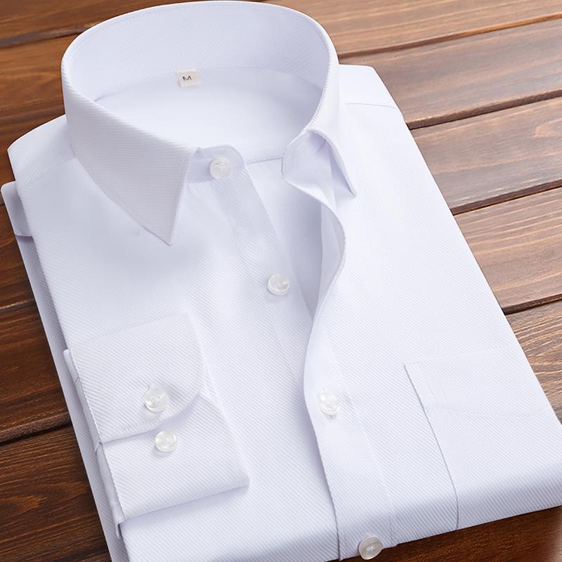 男士长袖正装衬衫,券后9.9元起包邮