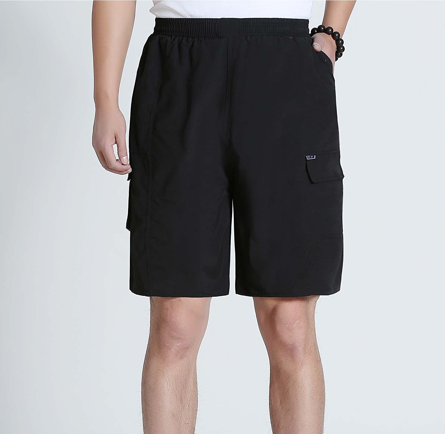 中年男士薄款宽松沙滩裤,券后16.9元包邮
