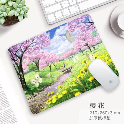 追光豹 创意可爱 加厚鼠标垫 2.5元包邮(多款可选)
