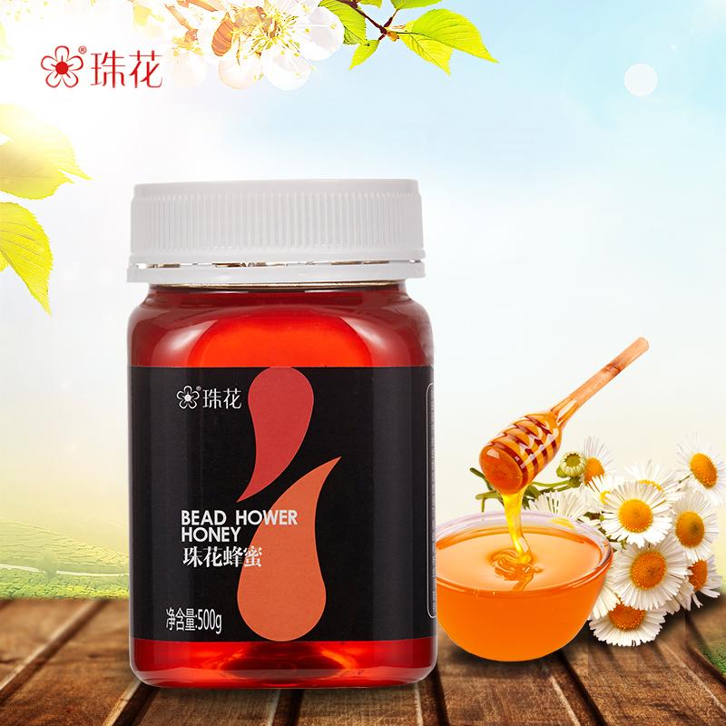 珠花 农家自产土蜂蜜 500g 9.9元包邮