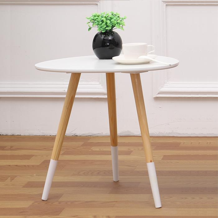 【极有家】北欧创意实木桌子小茶几券后69元起包邮
