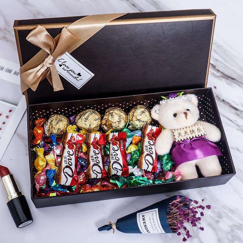 德芙巧克力七夕节创意礼盒 券后5.1元包邮
