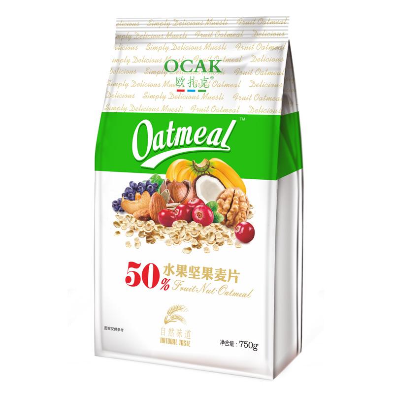 欧扎克 50%水果坚果麦片 29.8元包邮