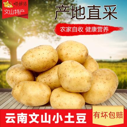 文山黄心土豆马铃薯 10斤 18.8元包邮