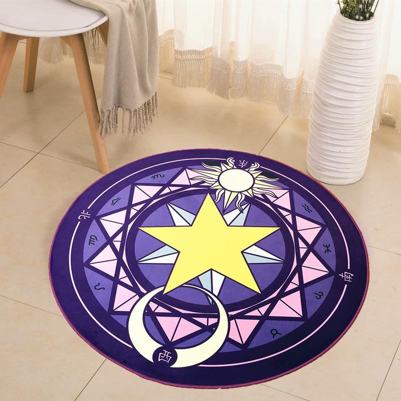 德陽 魔法陣 圓形地毯 直徑60cm 9.8元包郵