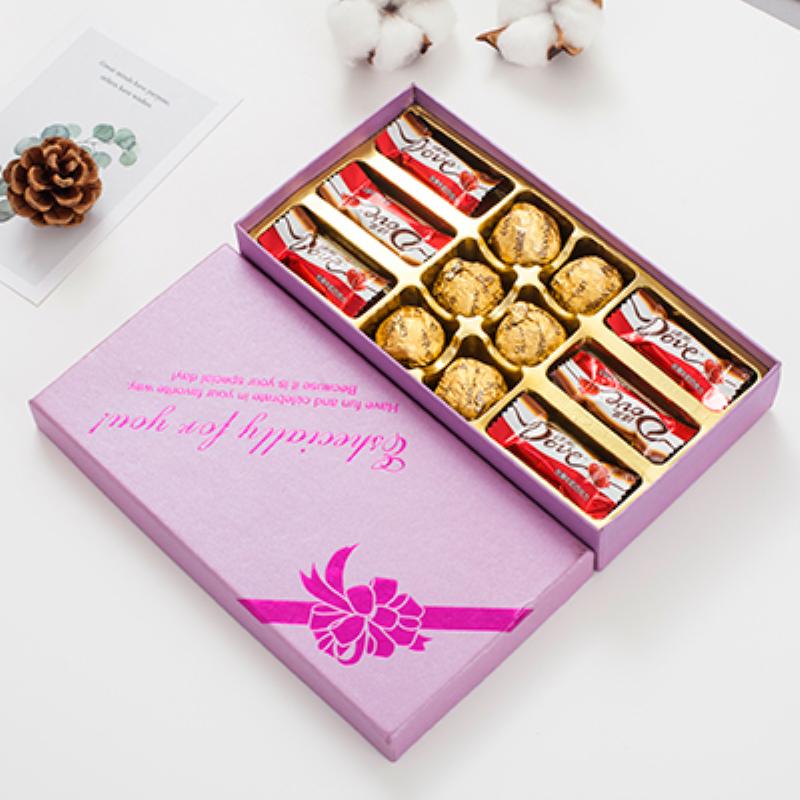 教师节礼物 德芙巧克力礼盒装 券后6.6元包邮