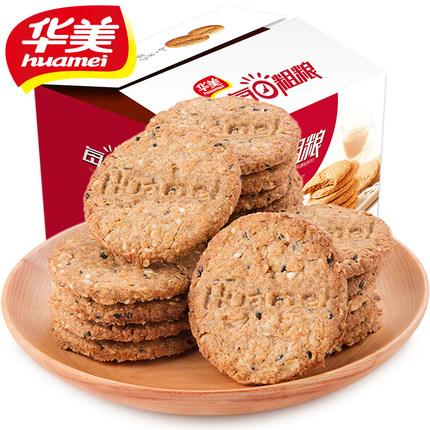 华美 无添糖粗粮饼干 1050g 14.9元包邮