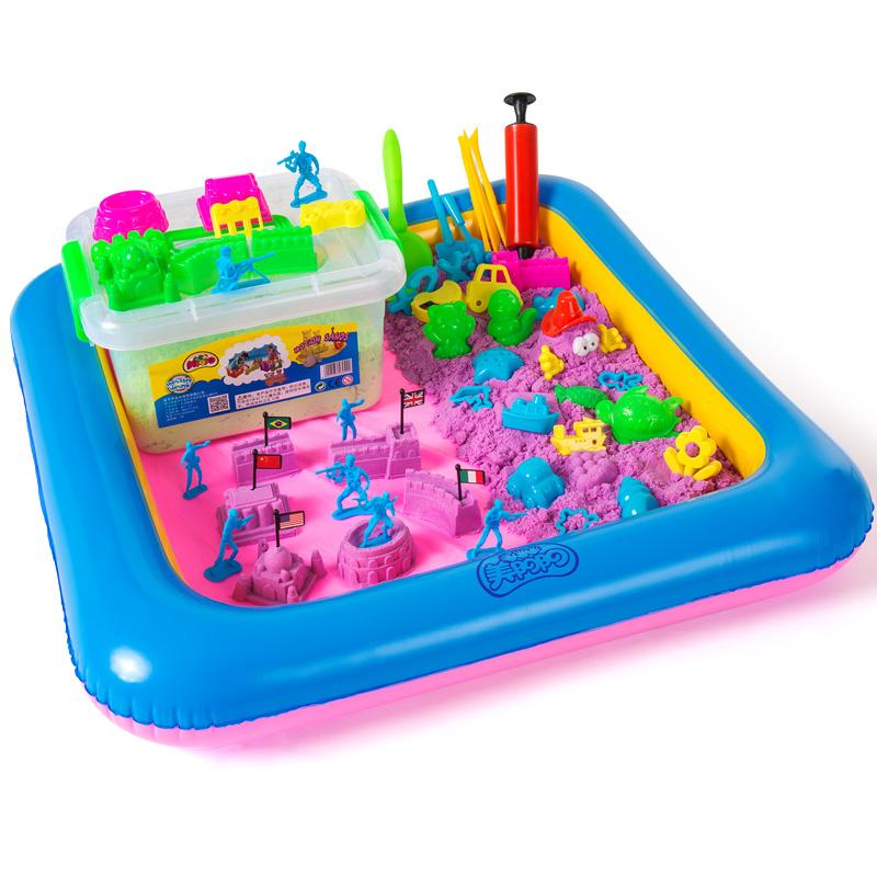 【美阳阳】太空沙粘土儿童玩具5斤 券后7.6元包邮