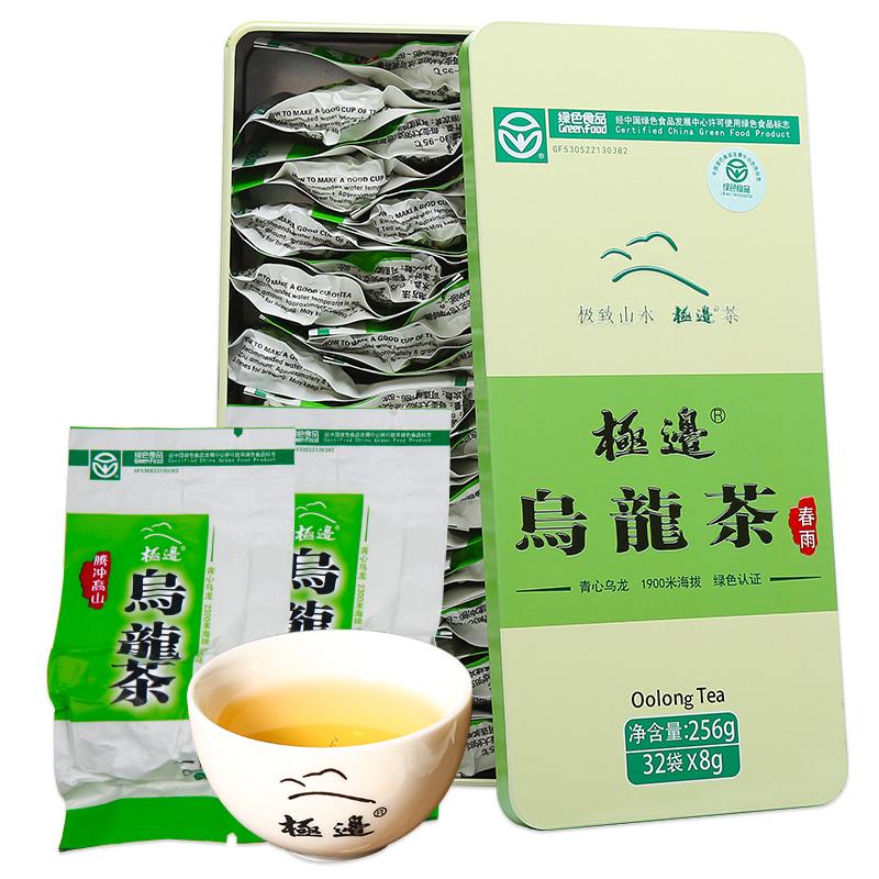 【极边】极品高山乌龙茶礼盒装256g 券后9.9元包邮