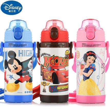 迪士尼 儿童 吸管保温杯 450/480ml 29.9元包邮