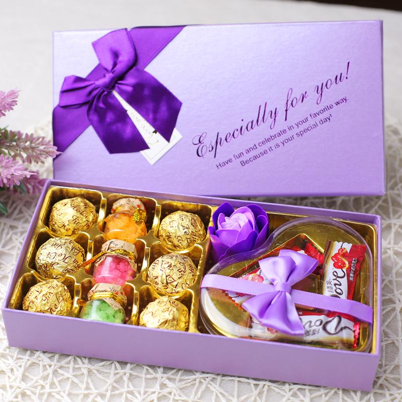 德芙巧克力礼盒装255g,券后14.5元包邮