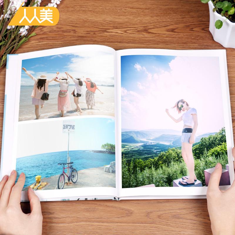 12寸大容量照片书定制旅游相册制作个性diy婚纱写真影集相片纪念