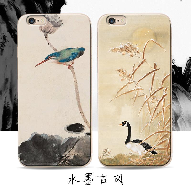 中国风苹果6/6s /7plus手机壳,券后9.9元包邮