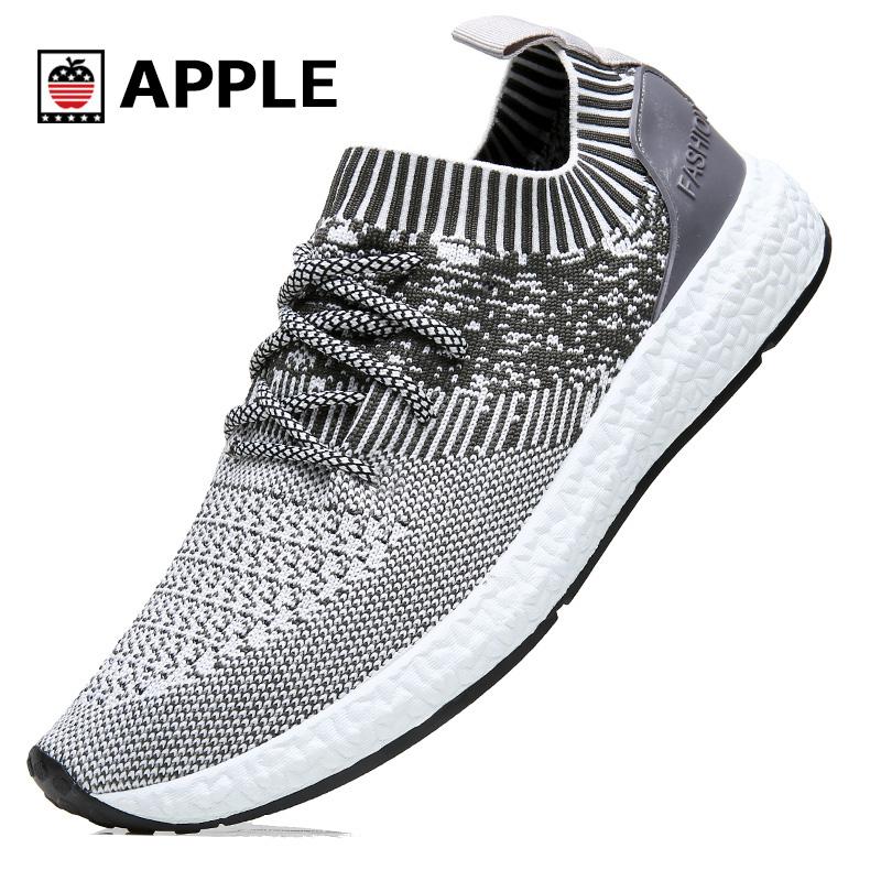 美国苹果 男士透气网面运动鞋,券后59元包邮