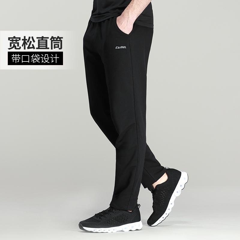 骆驼旗舰店 情侣款宽松直筒休闲卫裤9折+券后59元包邮