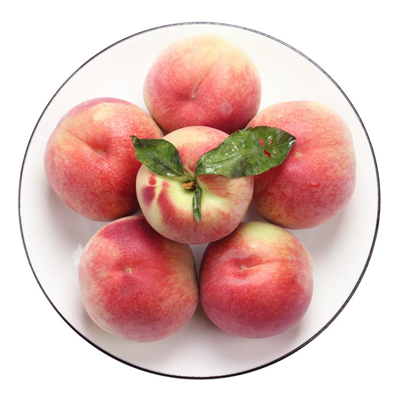 新鲜脆甜水蜜桃10斤箱装 券后19.9元包邮