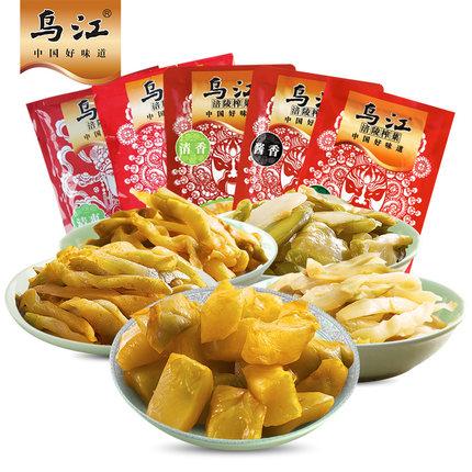 乌江 涪陵榨菜 下饭菜 16袋装 共1280g 26.9元包邮