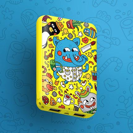 黑鱼 迷你便携 充电宝 5000mAh 27.9元包邮(多款可选)