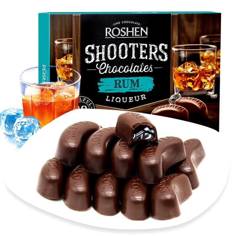 ROSHEN 酒心巧克力 150克 19.9元包邮