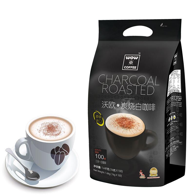 马来西亚原装进口速溶白咖啡16g*100条 券后29.9元包邮