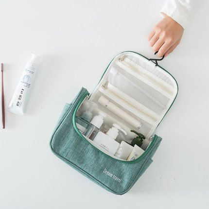 昇平 多功能 大容量化妆包 14.9元包邮