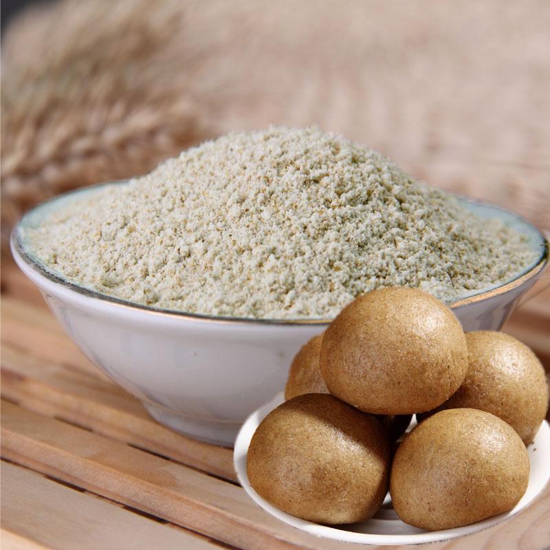农家自产 含麦麸 全麦面粉 5斤 14元包邮