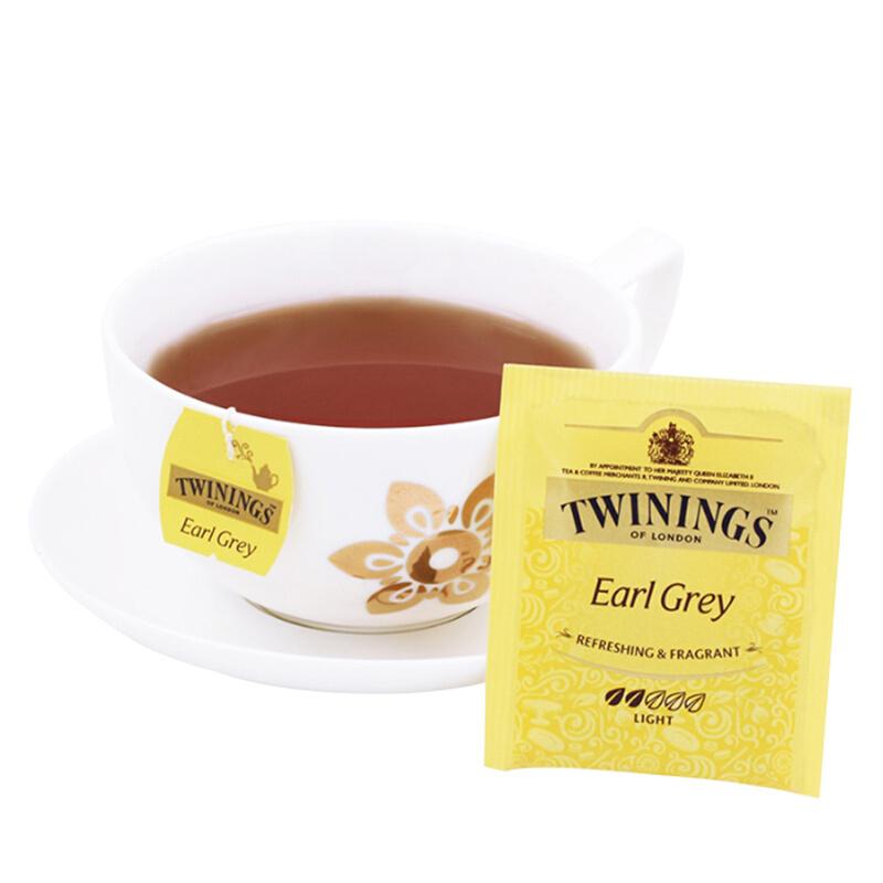 川宁 波兰进口 英国川宁豪门伯爵红茶10包*2g  9.9元包邮