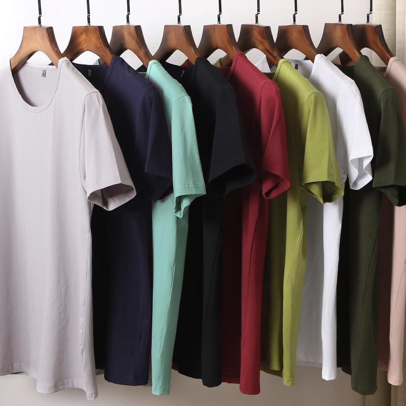男士短袖T恤纯色打底衫,券后15.9元包邮