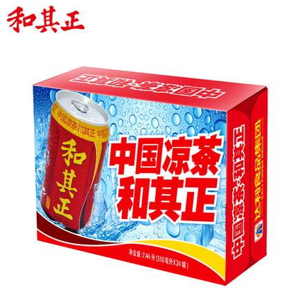 和其正 凉茶饮品 310ml*24罐 56.9元包邮