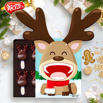 怡浓 一鹿相伴 巧克力 棒棒糖 120克 18元包邮