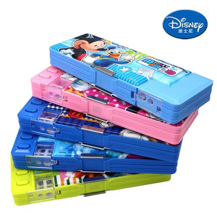 迪士尼 小学生多功能文具盒 9.8元包邮