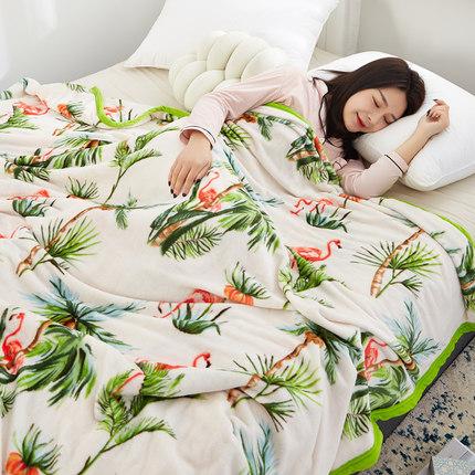 红磨坊 法兰绒珊瑚毛毯 70cm*100cm 6.8元起包邮