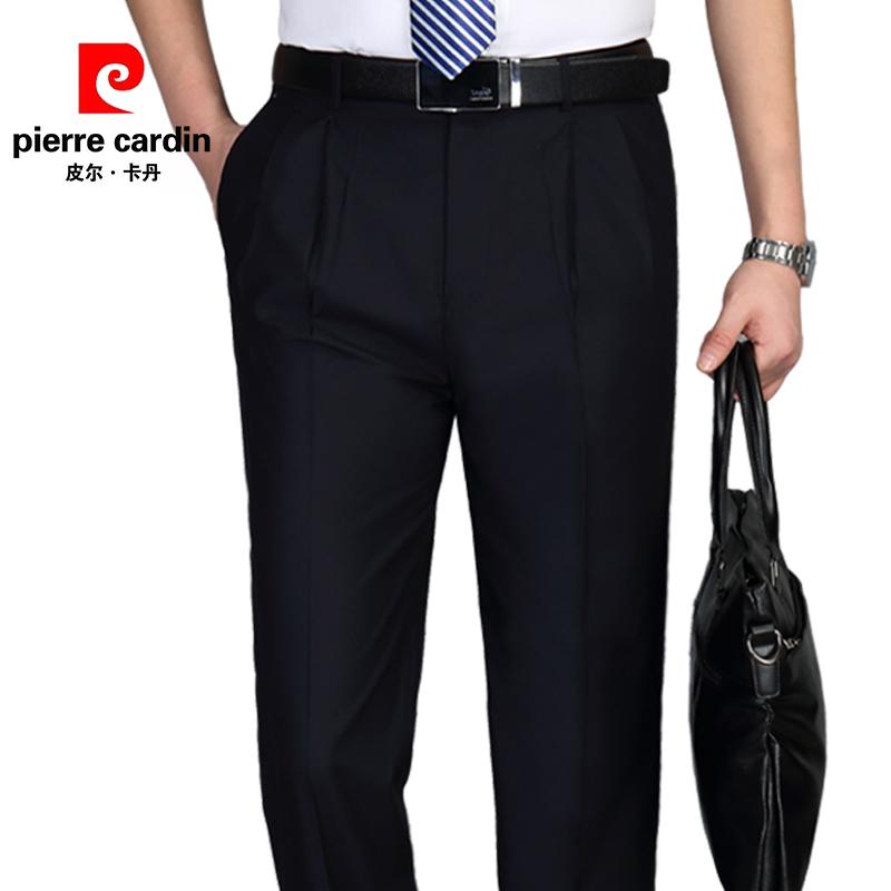 【皮尔·卡丹】桑蚕丝薄款男西裤 券后68元包邮