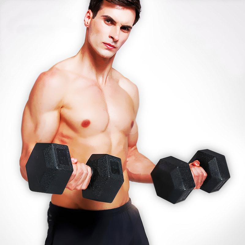 六角哑铃男士练臂肌女生瘦手臂瘦臂