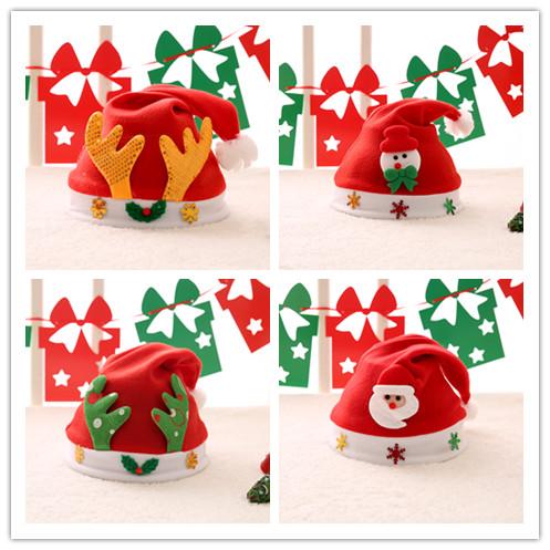 粉粉 圣诞节装饰头箍帽 4.9元包邮