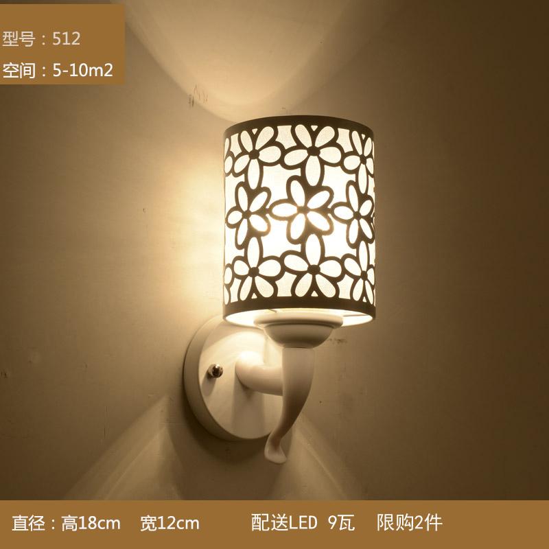 壁灯现代简约LED床头灯卧室创意欧式壁灯
