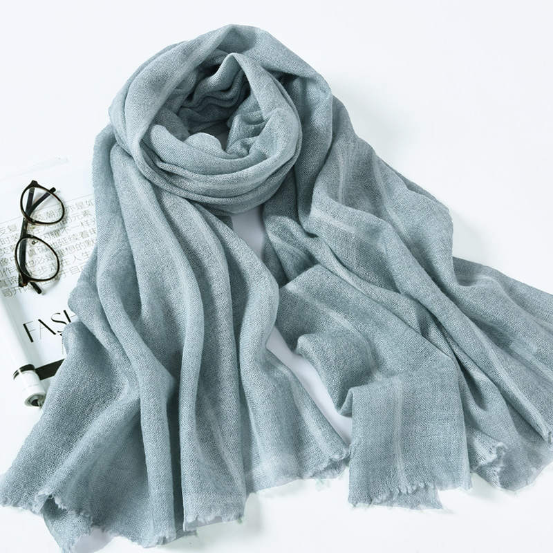 秋冬超长羊毛围巾200cm*85cm
