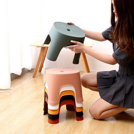 葛诺家用塑料板凳 6.8元起包邮