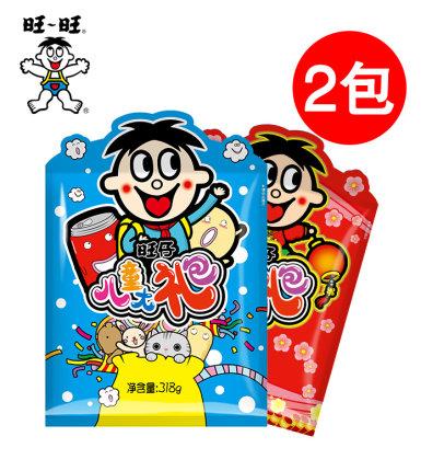 旺旺 零食大礼包 318g*2袋 35元包邮